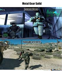 Metal Gear Solid Meme - metal gear solid evolution by goxon1 meme center
