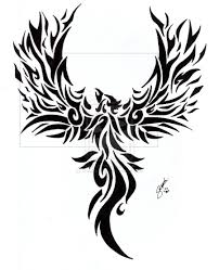 48 tribal phoenix tattoos ideas