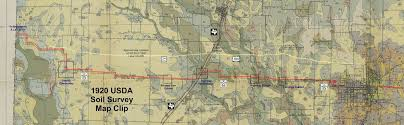 Map Of Denton County The Fort Worth Gazette Scouting The Lost Highway To Old Stoney