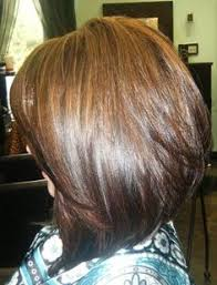 medium length swing hair cut medium length stacked bob google search wavy hair don t care