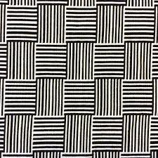 schumacher black u0026 white basket check reversible acrylic outdoor