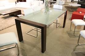 modern glass top dining table brucall com