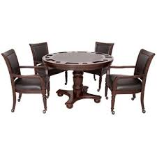 game table and chairs set game table sets wayfair