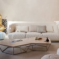 joli canapé salon moderne joli canape blanc ideeco