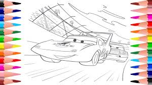 disney pixar cars coloring pages painting dinoco and hicks