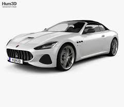 maserati grancabrio black maserati grancabrio mc 2017 3d model hum3d
