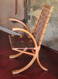 Wagon Wheel Rocking Chair Esherick Revisited Popular Woodworking Magazine