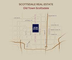 Scottsdale Fashion Square Map Old Town Scottsdale Real Estate