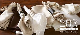 pottery barn table linens pottery barn grab a table before it s gone our fall dining event