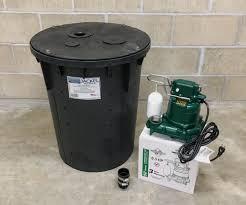 diy sump pump system how to install a sump pump waterproof com