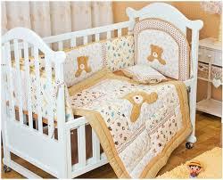 Baby Boy Cot Bedding Sets Promotion 6pcs Baby Crib Bedding Set For Boys Cot Set Bed Kit