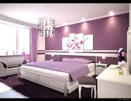 Pleasing  Purple Bedroom Interior Decorating Design Of Top - Interior design purple bedroom