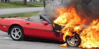 corvette c4 forum canadian c4 corvette bursts into in owner s driveway