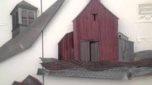 Using Old Barn Wood Barn Board Art Artwork Using Old Barn Boards Youtube