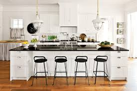 Farmhouse Style Bar Stools Industrial Hanging Lights Kitchen Farmhouse With Bar Stool Black