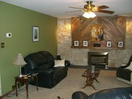 fancy picking paint colors for living room using green color walls