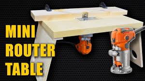 makita router table 490 make a mini router table for trim router laminate router youtube