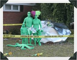 Homemade Halloween Decorations For Outside Alien Halloween Decorations Property Of Area 51 Cool Halloween