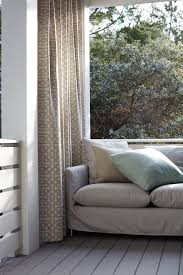 Sunbrella Outdoor Curtain Panels by Fabrics For The Home Sunbrella Fabrics