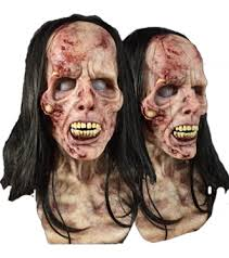 Zombie Mask Female Fit Silicone Mask