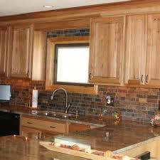 Rustic Hickory Kitchen Cabinets American Classics Hampton Natural Hickory Kitchen Cabinets