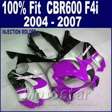 cheap honda cbr 600 100 injection molding for honda cbr 600 f4i fairings 2004 2005