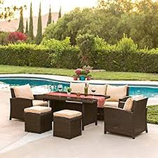 Cheap Patio Sets by Amazon Com Best Choice Products 7pc Outdoor Patio Sectional Pe