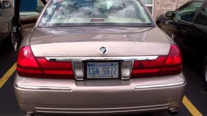 2005 grand marquis with flowmaster super 44s and h pipe youtube