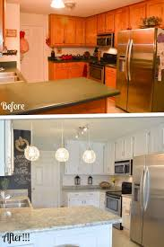 Rental Kitchen Makeover - kitchen diy kitchen countertop remodel youtube tile countertops