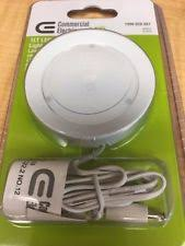 commercial electric under cabinet lighting commercial electric 1lt metal white led puck light 2136 ebay