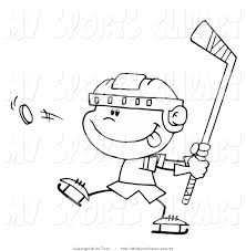 sports clip art of a black and white coloring page outline of a