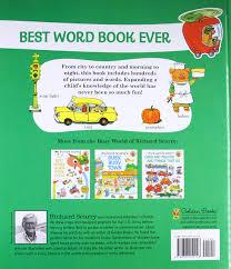 amazon com richard scarry u0027s best word book ever giant golden