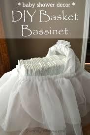 Diy Baby Shower Decor Baby Shower Decor Diy Basket Bassinet