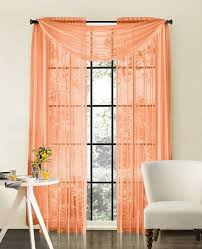 endearing coral sheer curtains and top 25 best peach curtains