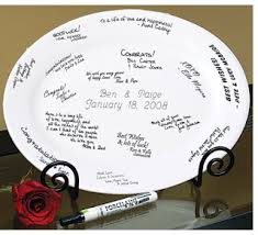 wedding guest book plate brides creative guest book ideas use a wedding guest