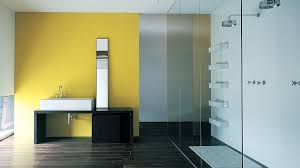 bathroom design stunning white modern separated by glass wall