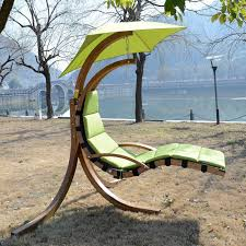 Wooden Garden Swing Chair Outsunny Swinging Helicopter Chair Wood Seat Hammock Swing Sun