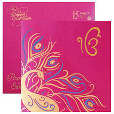 Sikh Wedding Card Sikh Wedding Invitations U2013 Sikh Wedding Cards U2013 Indian Wedding