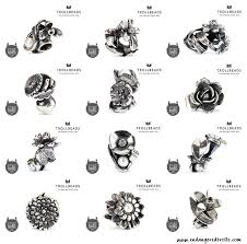 flowers of the month trollbeads flowers of the month inspiration endangered trolls