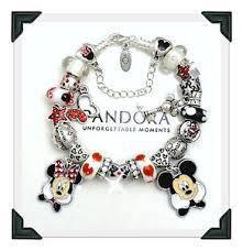 ebay jewelry silver charm bracelet images Pandora sterling silver charm bracelet disney mickey minnie euro jpg