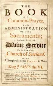prayer book in the 1637 scottish book of common prayer