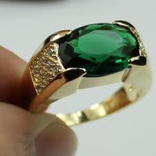 emerald gemstone rings images 2018 jenny g jewelry size 9 10 11 classic green emerald gemstone jpg