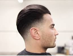 best hairstyle for men with a flat back head