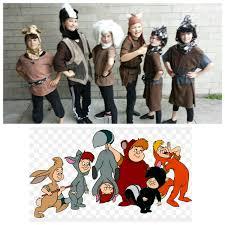 upcycled peter pan costumes 8 custom lost boys by enduredesigns
