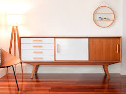 mid century modern sideboard white fascinating mid century