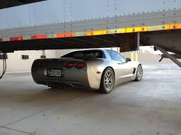 c5 corvette lowered will a c5 corvette fit underneath a semi trailer corvette