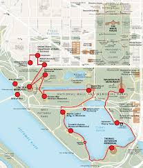 Washington Mall Map by Peace Trail On The National Mall United States Institute Of Peace