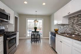 galley style kitchen ideas awesome white shaker kitchen cabinets galley style modern in