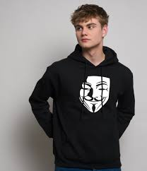 anonymous mask v for vendetta anonymous mask hoodie