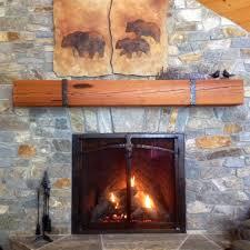 reclaimed antique wood mantel pieces